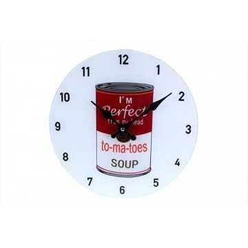 Reloj pared conserva 30cm