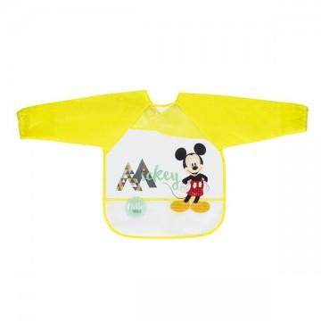 Babero con mangas Mickey...