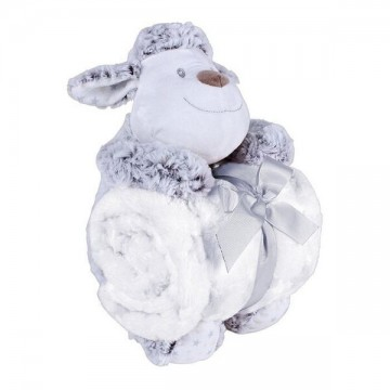 Peluche + manta oveja lana...