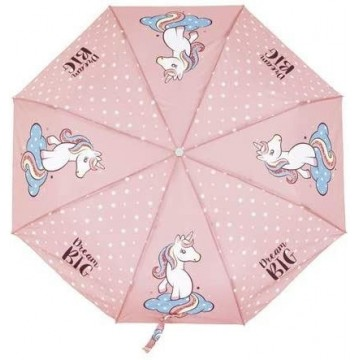 Paraguas plegable Unicornio...