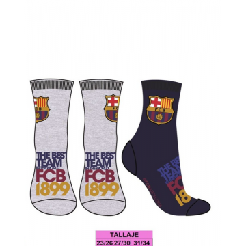 Pack 2 pares calcetines FC...