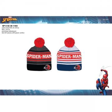 Gorro Pompón Spiderman